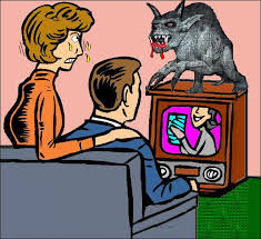 TV Is The Monster That Sucks Brains From Our Skulls Leaving Population Vulnerable