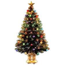 Incredible 2 Ft Fiber Optic Christmas Trees Nonsensical 3 Foot Tree Amazon Rotating