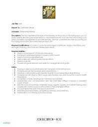 Hostess Duties Resume Lovely Job Description For Resumes Air Sample Of