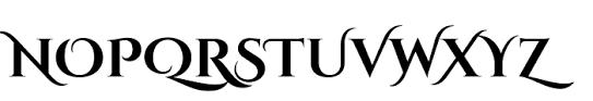 cinzel decorative bold font whatfontis com