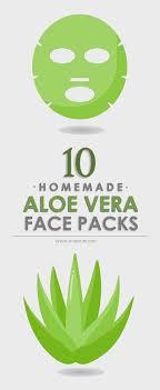 10 Best Homemade Aloe Vera Face Packs