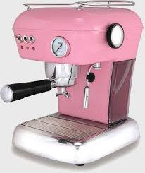 Pink Espresso Machine Preferably In A Paler Though For My Kitchen