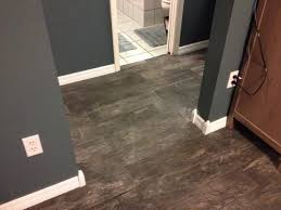 marazzi montagna smoky black 6 in x 24 in glazed porcelain floor