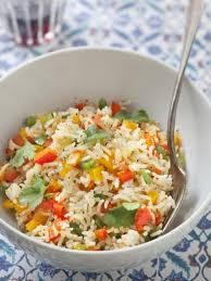 lalla fatima cuisine سلطة الأرز