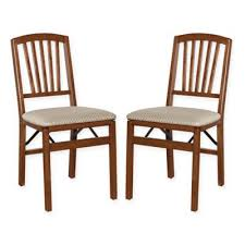 Stakmore Folding Chairs Fruitwood by Buy Wood Folding Chairs Set Of 2 From Bed Bath U0026 Beyond