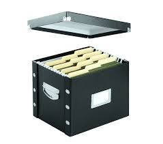 Amazon Snap N Store Letter Size File Box Black SNS