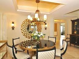 Wall Decor Ideas For Dining Room Amazing Lovely Download Round