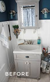 Small Bathroom Ideas With Vintage Decor | Robb Restyle Bold Design Ideas For Small Bathrooms Bathroom Decor And Southern Living 50 That Increase Space Perception Bathroom Ideas Small Decorating On A Budget 21 Decorating 25 Tips Bath Crashers Diy Tiny Fresh 5 Creative Solutions Hammer Hand