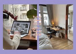 home office makeover so passt der arbeitsplatz ins schlafzimmer