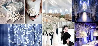 Winter Wedding Themed Ideas