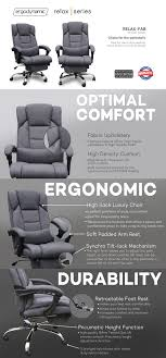 Ergodynamic RELAX Reclining Luxury High Back Office Chair Best Ergonomic Office Chairs 2019 Techradar Ergonomic 30 Office Chairs Improb Dvo Spa Design Fniture For The 5 Years Warranty Ergohuman Enjoy Classic Ejbshbmf Smart Chair Comfortable Gaming Free Installation Swivel Chair 360 Degree Racing Gaming With Footrest Gaoag High Back Lumbar Support Adjustable Luxury Mesh Armrest Headrest Orange Grey Lower Pain In India The 14 Of Gear Patrol 8 Recling Footrest Bonus