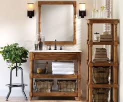 Medium Size Of Glomorous Natty Wooden Shelving Unit With Rustic Bathroom Vanity Near Decorativesucculent Plant
