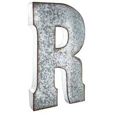 Hobby Lobby Wall Decor Letters by Galvanized Metal Letter Wall Decor R Hobby Lobby 138553