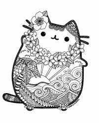 Image Result For Pusheen Coloring Pages