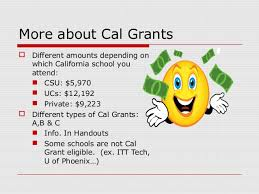 Cal Grant Income Ceiling 2017 18 by Foothill College Financial Aid Presentation 2015