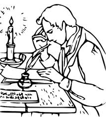 Joseph Smith Write Book Of Mormon Coloring Page Netart Throughout Pages