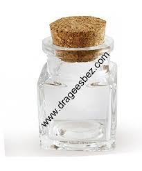 petit pot pour dragees petit pot en verre carré de qualité pour safran