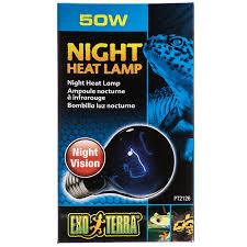 Bearded Dragon Heat Lamp Wattage by Hagen Exo Terra Exo Terra Night Heat Lamp Reptile Incandescent Bulbs