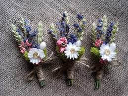 Summer Dried Pastel Boutonnieres Set 6 Groomsman Wedding Boutonniers Rustic Groom Decor Vintage Country Woodland Boutonniere