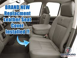 100 Dodge Truck Seat Covers 20062008 Ram 1500 QuadCab Laramie Leather Drivers