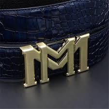 big double m letter buckle belts designer belts genuine leather