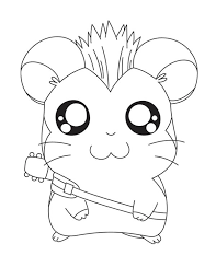 Hamtaro The Rock Star Coloring Pages