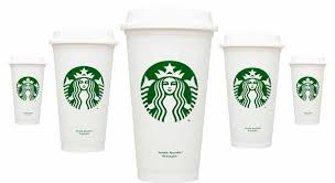 Starbucks Recycable 1 Plastic Cups