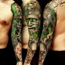 Japanese Full Sleeve Tattoo Designs