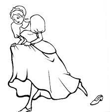 Coloring Sheet Cinderella 31 Best Disney Images On Pinterest