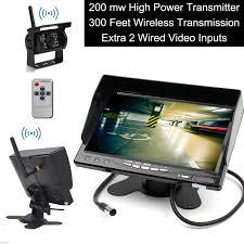 100 Backup Camera System For Trucks Builtin Wireless Truck Parking 1224V 7