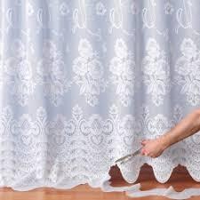 voilage au metre tissu au mètre rideaux voilages au mètre blancheporte