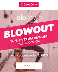 Alo Yoga Coupon Code | Zenfitt.co