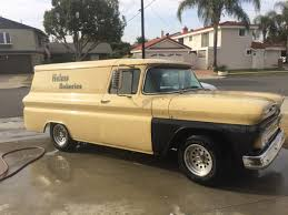 1961 Chevy Panel Truck - Helms Bakery Truck | The H.A.M.B.