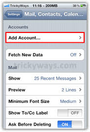 How to Setup Gmail on iPhone 4 Google iPhone
