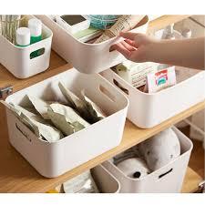 home storage organizer boxen mit griff für küche schrank