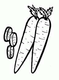New Pick Fresh Carrots Coloring Pages