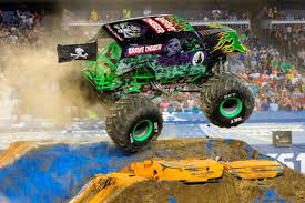 Female Drives Grave Digger Monster Truck At Golden 1 Show | The ...