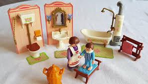 playmobil nostalgie rosa puppenhaus 1900 5324 bad