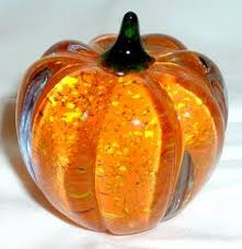 Glass Pumpkin Patch Puyallup by Large Dean Benson Hand Blown Glass Pumpkin Glass Pumpkin