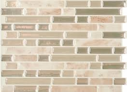 Smart Tiles Peel And Stick 20 peel and stick ceramic wall tile smart tiles 965 in w x 1155