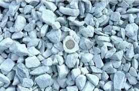 White Garden Rocks Gravel Marble Chip Landscape