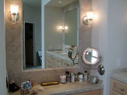 lights ergonomic led light wall mounted makeup mirror by glimmer
