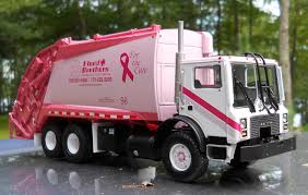 Pink Mack Garbage Truck For The