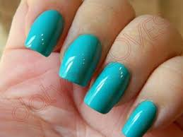 Get Quotations TURQUOISE GLOW IN THE DARK NAIL POLISH SET VARNISH Paint