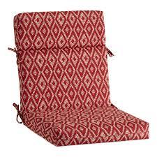 100 Rocking Chair Cushions Pink Garden Treasures 1Piece Red Diam Ruby High Back Patio Cushion