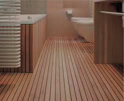 parquet teck salle de bain on decoration d interieur moderne pont