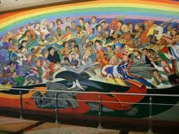 a pictorial conspiracy the denver airport murals gov t slaves