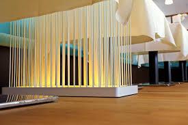bambusstangen ideen raumteiler wohnzimmer schlafzimmer