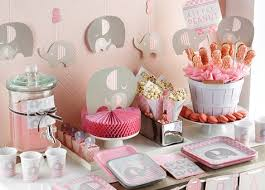 Baby Minnie Mouse Baby Shower Theme by Baby Shower Supplies Boy U0026 Baby Shower Ideas Shindigz