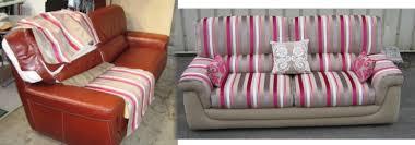 restaurer un canapé rénovation canapé cuir intérieur déco